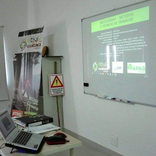 Formação em Motosserra - Métodos e Técnicas de Trabalho