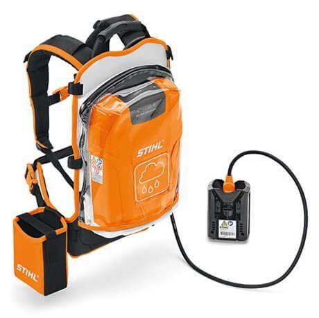 STIHL Bateria de Costas AR com capa impermeável