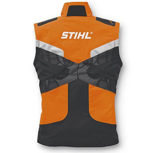 Blusão STIHL ADVANCE X-TREEm colete costas